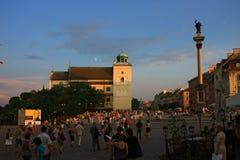 Paisagem de Varsóvia Foto de Stock Royalty Free