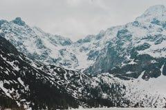 Paisagem de Zakopane das montanhas de Tatry imagem de stock