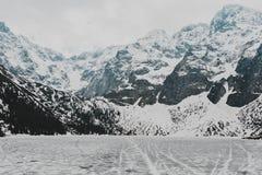 Paisagem de Zakopane das montanhas de Tatry fotos de stock royalty free