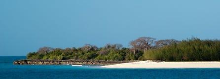 Paisagem de Zanzibar Fotografia de Stock Royalty Free