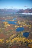 Paisagem do Alasca na queda Imagens de Stock