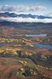 Paisagem do Alasca na queda Imagem de Stock Royalty Free