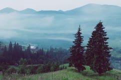 Paisagem do amazinf da montanha Foto de Stock Royalty Free