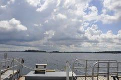 Paisagem do arquipélago de 1000 ilhas de Rockport em Canadá fotos de stock royalty free
