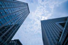Paisagem do arranha-céus Fotos de Stock