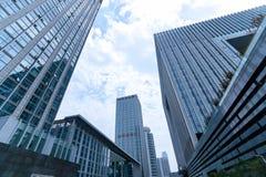 Paisagem do arranha-céus Imagens de Stock Royalty Free