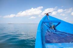 Paisagem do barco da âncora Foto de Stock