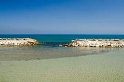 Paisagem 19 do céu do mar de Europa da praia do fim de semana da Espanha Imagens de Stock Royalty Free
