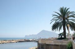 Paisagem 20 do céu do mar de Europa da praia do fim de semana da Espanha imagem de stock royalty free