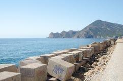 Paisagem 56 do céu do mar de Europa da praia do fim de semana da Espanha Fotografia de Stock Royalty Free