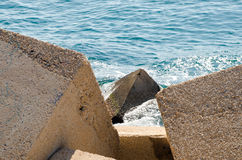 Paisagem 59 do céu do mar de Europa da praia do fim de semana da Espanha Imagens de Stock Royalty Free