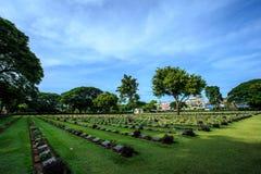 Paisagem do cemitério Imagem de Stock