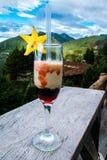 Paisagem do cocktail Foto de Stock