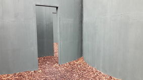 Paisagem do concreto de Veneza Bienal imagem de stock royalty free