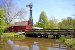 Paisagem do condado de Elkhart Fotografia de Stock