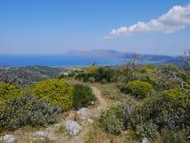 Paisagem do Cretan Fotos de Stock