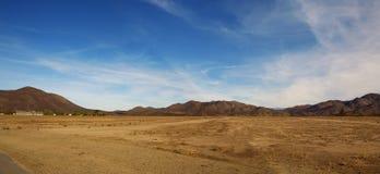Paisagem do deserto Imagens de Stock