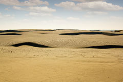 Paisagem do deserto Foto de Stock Royalty Free
