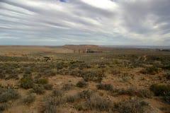 Paisagem do deserto do Arizona fotografia de stock