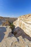 Paisagem do deserto do Negev Imagem de Stock