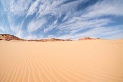 Paisagem do deserto, Egito, Sinai sul Foto de Stock Royalty Free