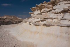 Paisagem do deserto, Negev, Israel Fotografia de Stock Royalty Free