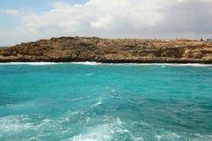 Paisagem do fundo do mar Imagens de Stock