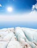 Paisagem do gelo Imagens de Stock Royalty Free