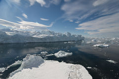 Paisagem do iceberg Imagem de Stock Royalty Free