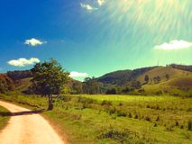 Paisagem do interior Foto de Stock Royalty Free