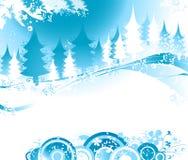 Paisagem do inverno ilustração stock