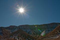 Paisagem do inverno do Arizona Fotos de Stock