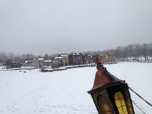 Paisagem do inverno Lugar da série Peligrim ao porto Foto de Stock