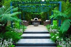 Paisagem do jardim Fotografia de Stock Royalty Free