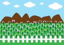 Paisagem do jardim Foto de Stock
