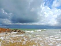 Paisagem do lado de mar fotografia de stock royalty free