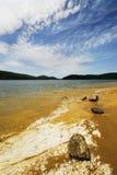 Paisagem do lago Arvo fotos de stock