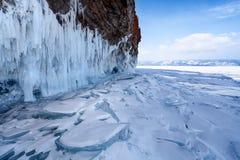 Paisagem do Lago Baikal imagem de stock