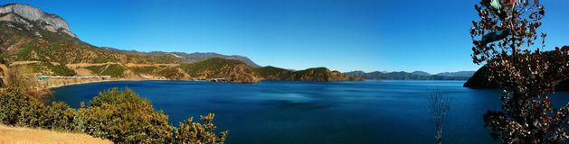 Paisagem do lago do lugu Imagens de Stock