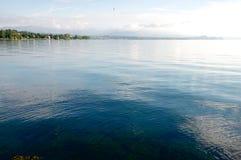 Paisagem do lago Garda, Desenzano Imagem de Stock Royalty Free