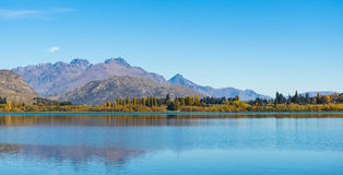 Paisagem do lago Hayes Foto de Stock Royalty Free