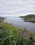 Paisagem do lago ladoga Imagens de Stock