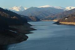Paisagem do lago mountain Imagens de Stock