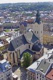 A paisagem do Lviv Imagens de Stock Royalty Free
