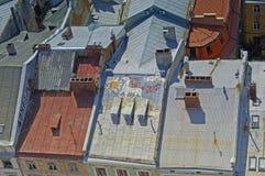 A paisagem do Lviv Imagem de Stock