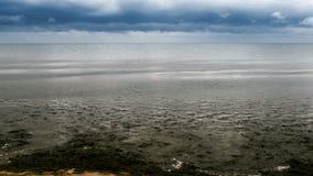 A paisagem do mar video estoque
