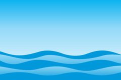 Paisagem do mar Foto de Stock