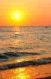 Paisagem do mar imagens de stock royalty free