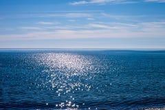Paisagem do mar Fotos de Stock