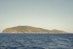Paisagem do mar e das montanhas Imagem de Stock